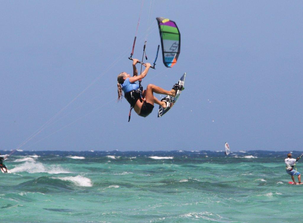 Kitesurfing Le Morne
