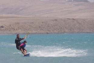 father-son-kitesurfing