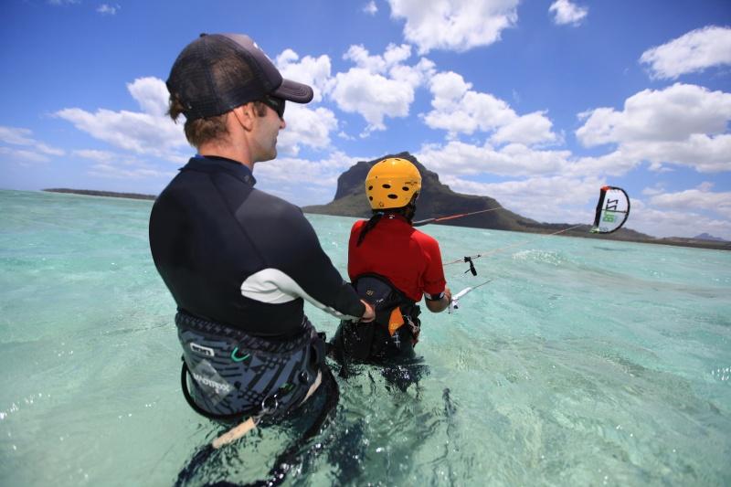 Mauritius-Kitesurf-Lesson