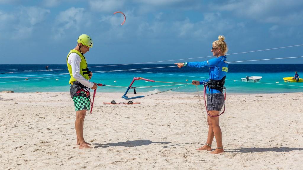bonaire-kitesurf-lesson