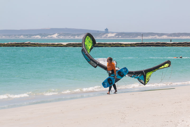 kitesurfer-langebaan