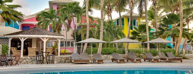 Hotels in st martin: Hotel Hoste
