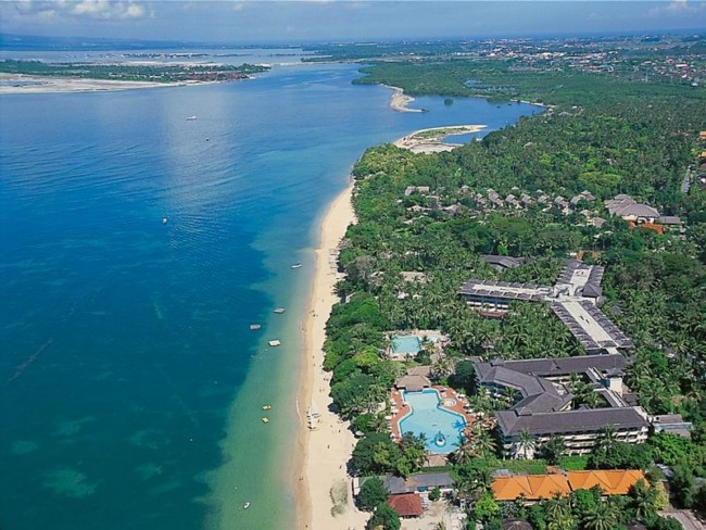Hotels in bali: Sanur Beach