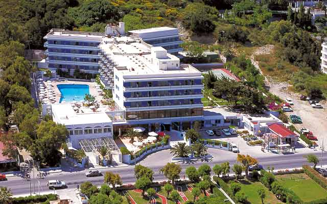 HOTEL in rhodes (ixia)